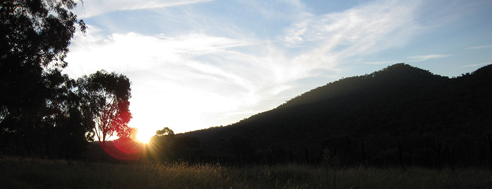 last sun on hill king valley